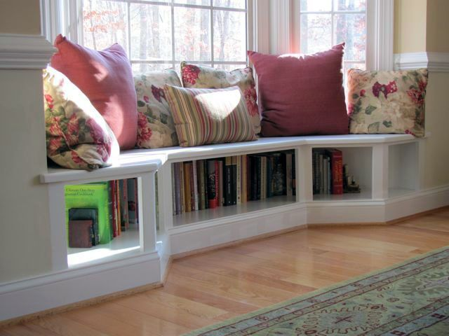 Surprising Diy Bench For Bay Window Just On Jurusolek Com Home Decor Bedroom Living Room Design Diy Living Room Diy