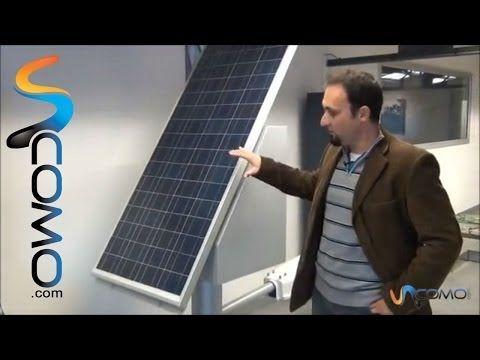 Como Funciona Un Panel Solar Youtube Paneles Solares Paneles Solares Funcionamiento Instalacion De Paneles Solares