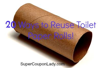 Save the Earth and Save Money: 20 Ways to Reuse Toilet Paper Rolls ...