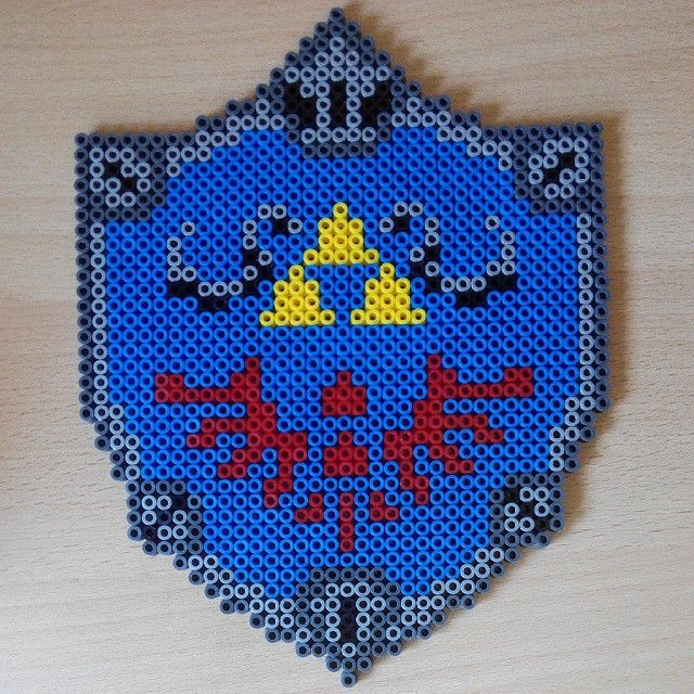 Legend of Zelda hama beads  by kentarioru