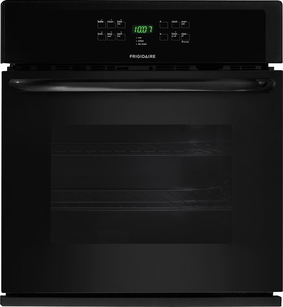 Frigidaire Ffew3025pb 30 Electric Single Wall Oven In Black Single Wall Oven Single Electric Wall Oven Gas Wall Oven