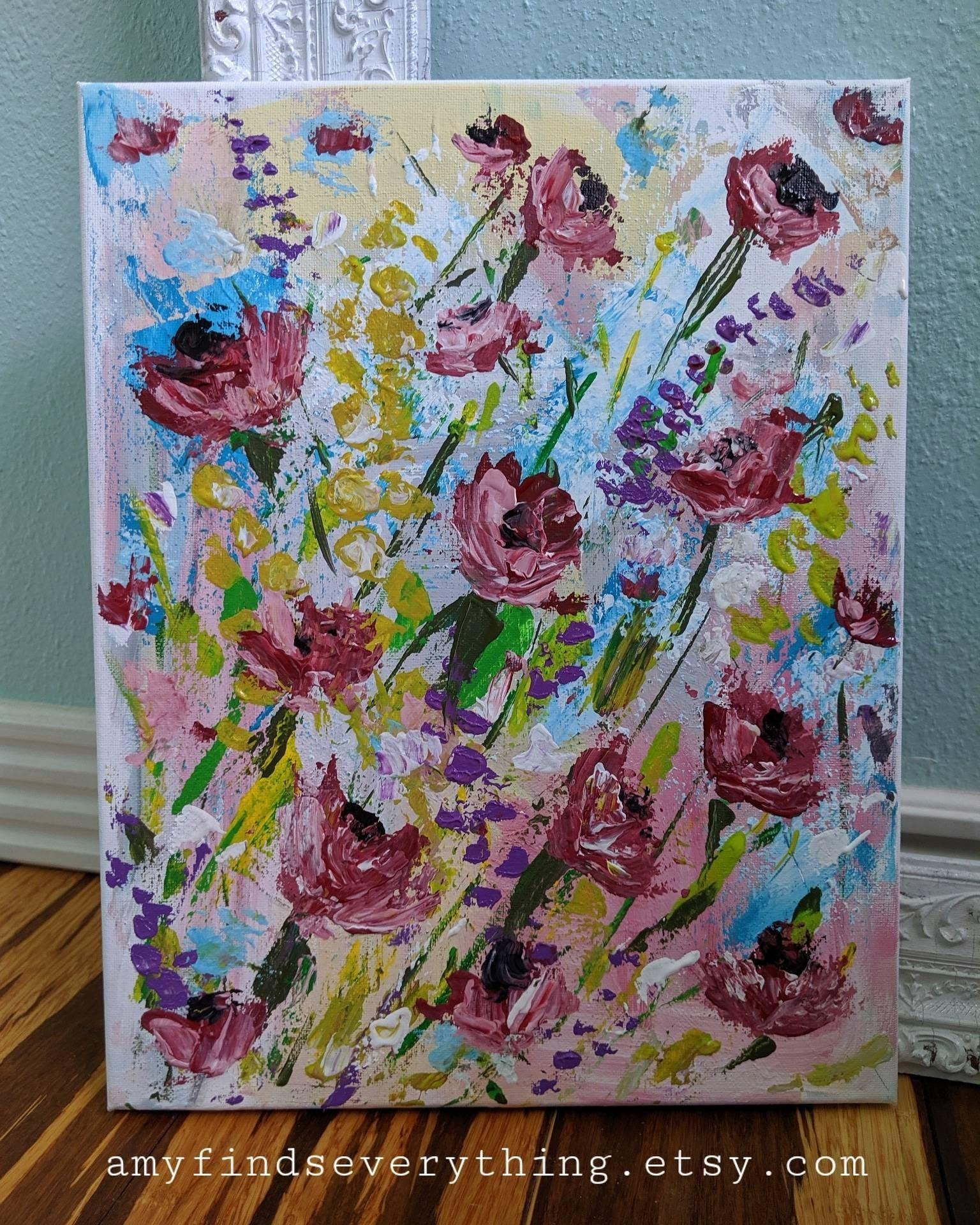 Poppy Love Painting Love painting, Painting, Art