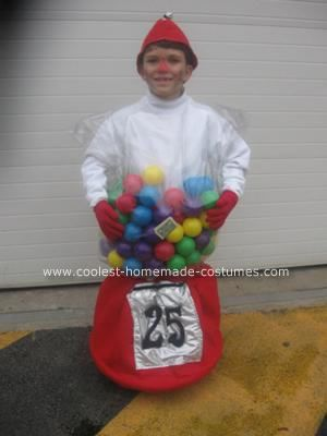 Coolest Homemade Bubble Gum Machine Halloween Costume | Bubble gum ...