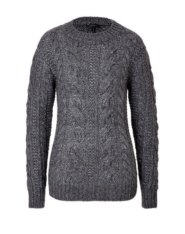 c4d8460016da BELSTAFF Wool-Alpaca Blend Cable Knit Pullover Belstaff