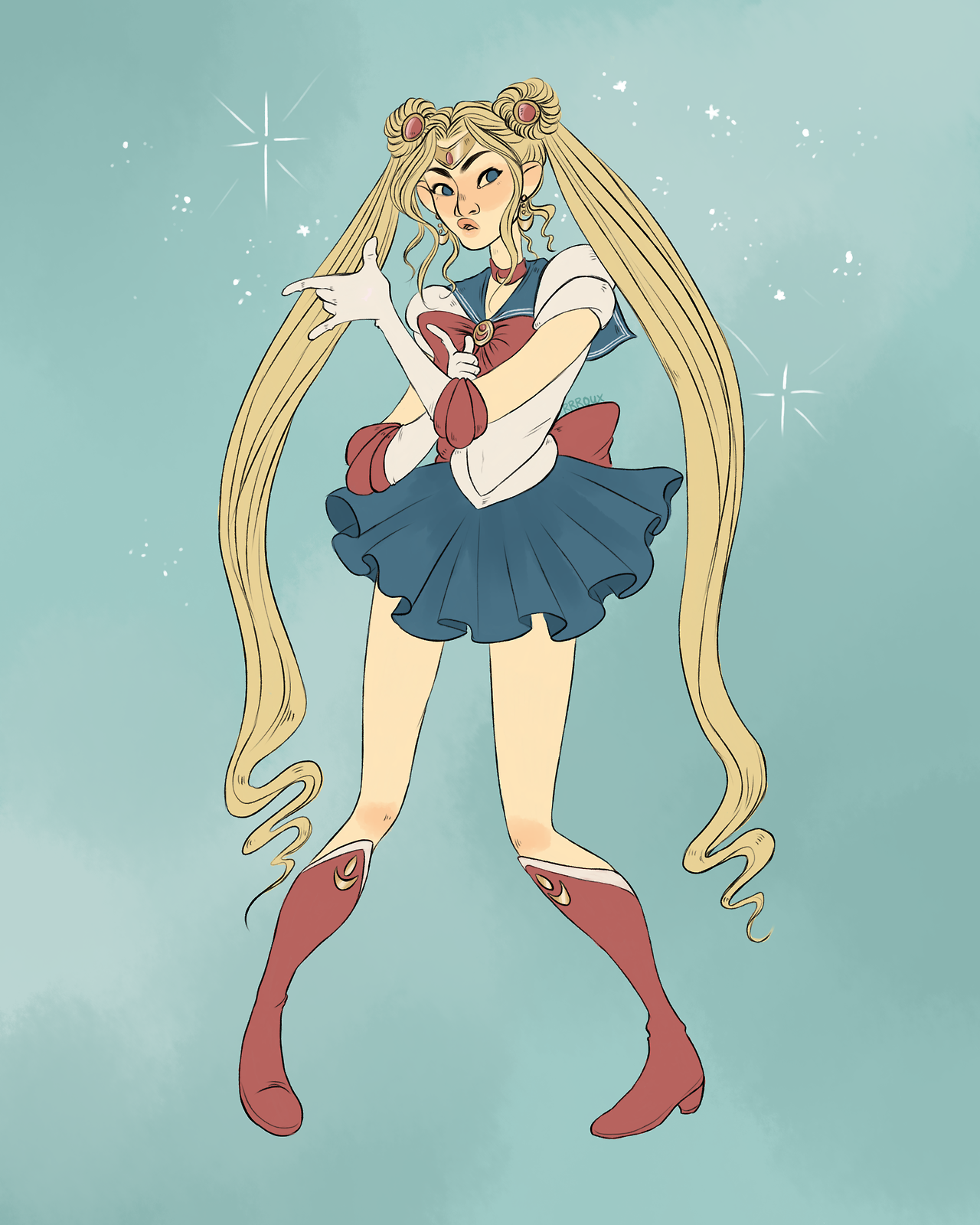 Been Watching Sailor Moon A Lot Lately And I Love This