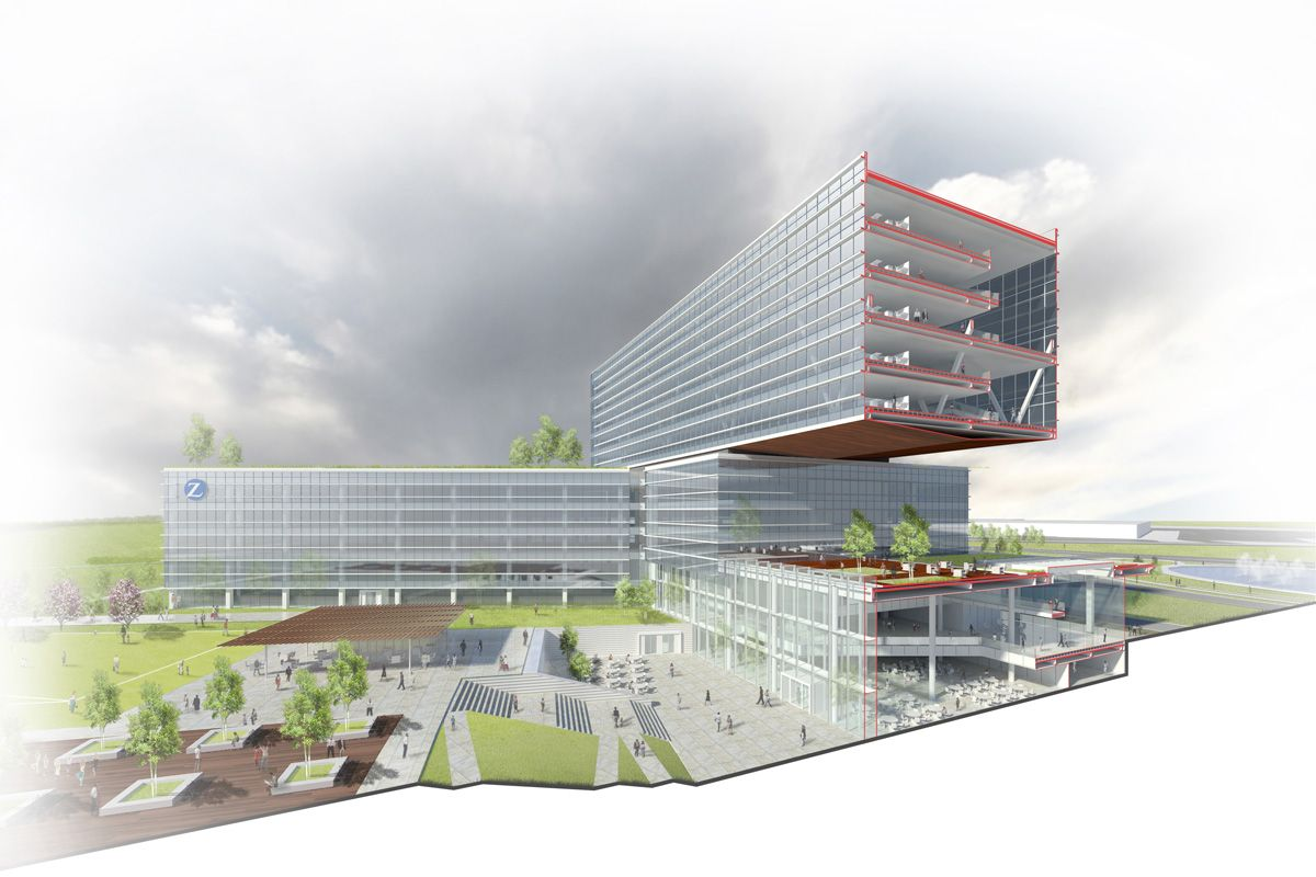 Zurich Insurance Campus Achieves Leed Platinum Certification