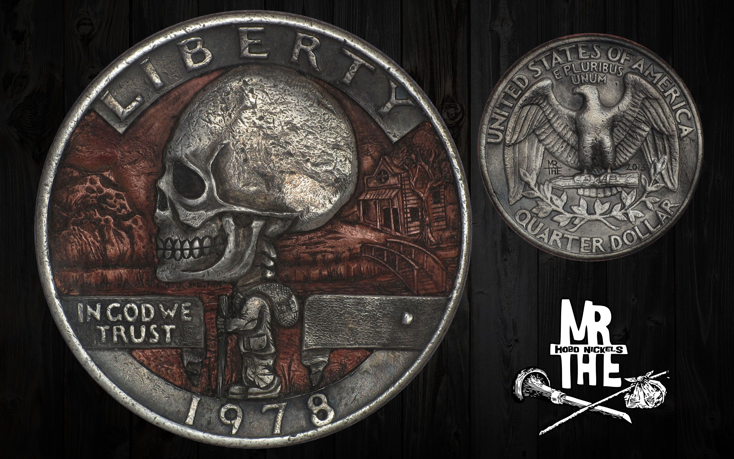 The Engraver's Cafe - The World's Largest Hand Engraving Community - Another Clad Coin.