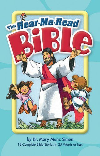 The Hear Me Read Bible By Mary Manz Simon Httpsamazondp