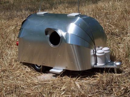 Airstream Birdhouse | For the Birds | Pinterest | Airstream ...