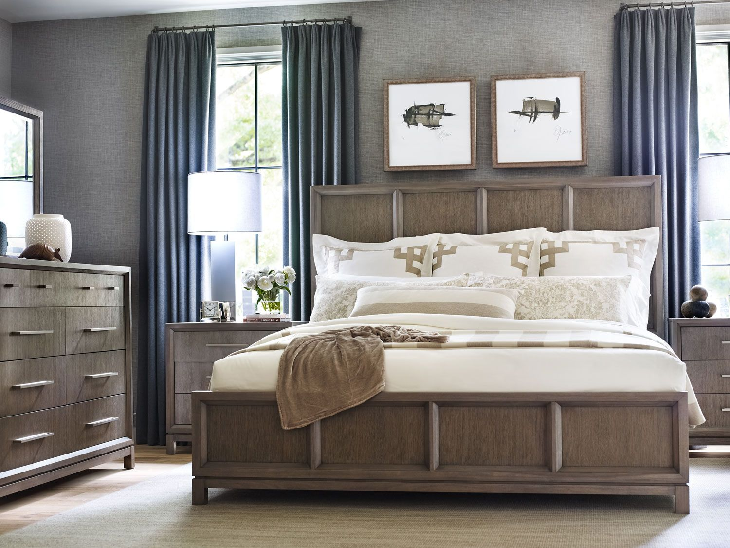Highline Queen Panel Bed Bedrooms First Columbus Ohio Bedrooms First Strives To Be The Premier Bedroom Furniture Specialist We Fo Furniture Chocolate Bedroom Bed Furniture