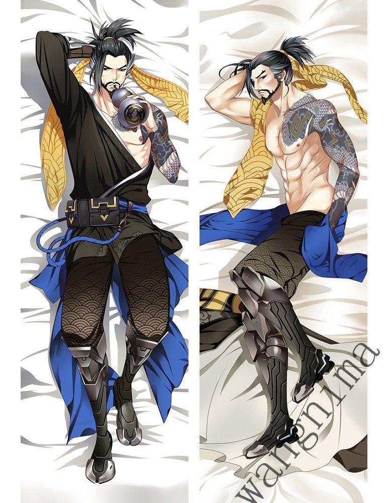 Overwatch Dakimakura D.Va Anime Girl Hugging Body Pillow Cases Covers new