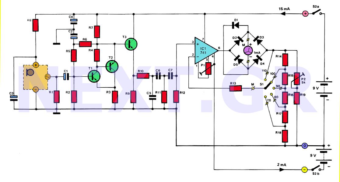 Audio Amplifier Gain Db