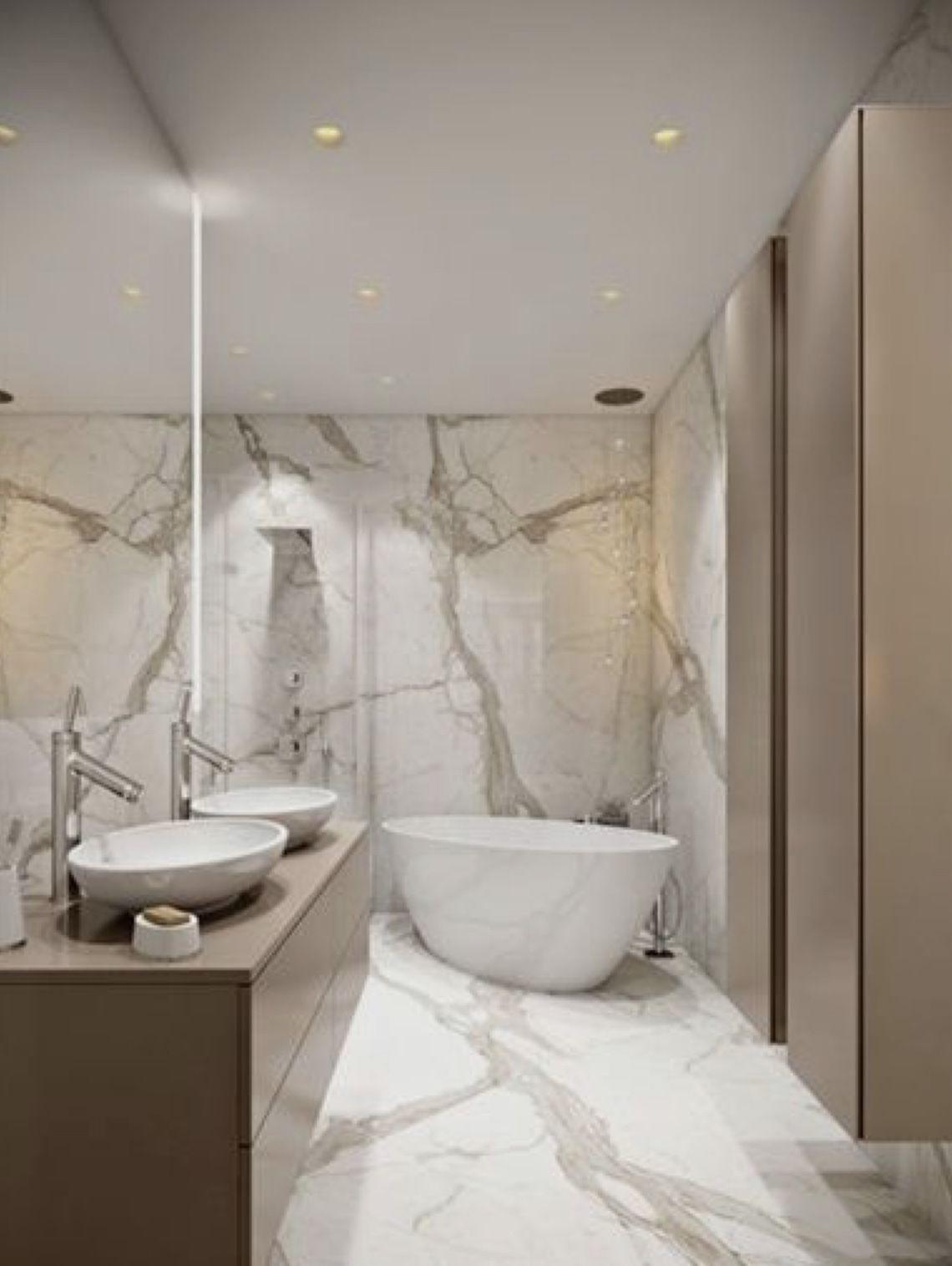 Long Narrow Bathroom Modern Master Bathroom Modern Bathroom Design Bathroom Style