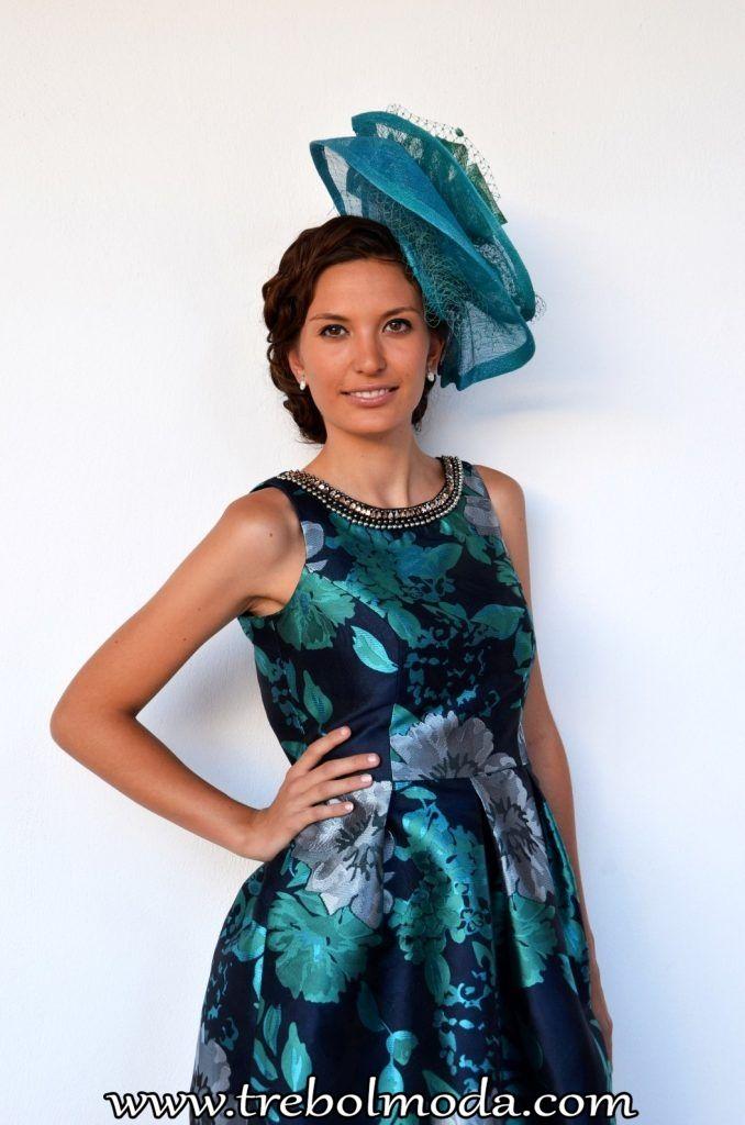 Vestidos verdes y azules