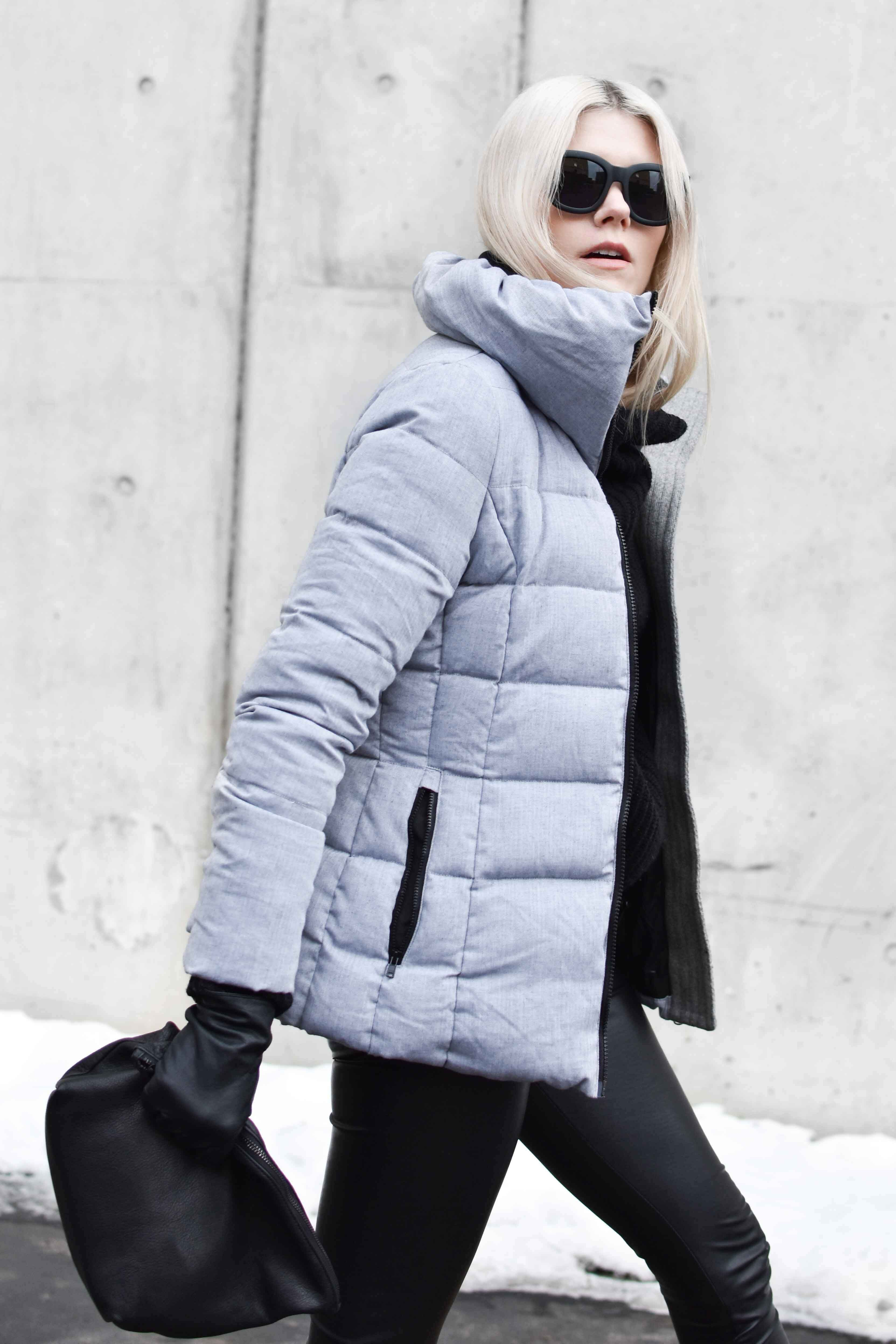 Snowman NYC Puffy Coat | blairbadge.com #minimaliststyle