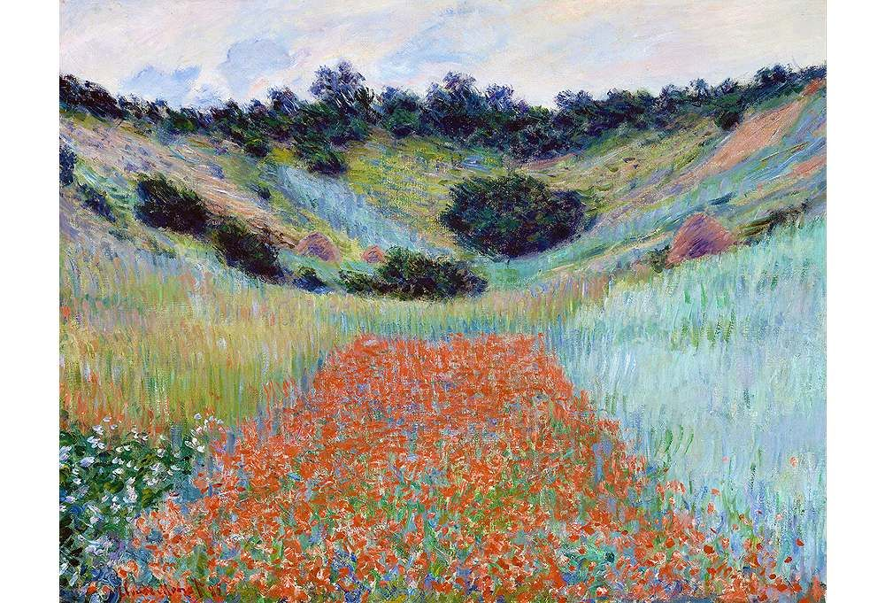 One Kings Lane - Most Wanted - Monet, Poppy Field Near Giverny