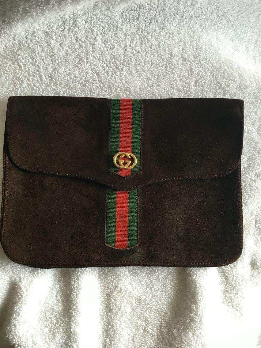 c5b03a90109 Vintage Gucci Clutch
