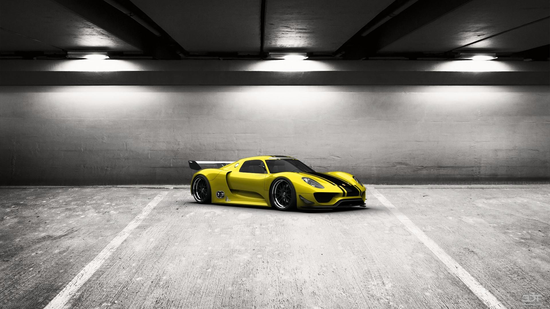 Come ti sembra il mio tuning #Porsche 918RSR 2012 in 3DTuning #3dtuning #tuning
