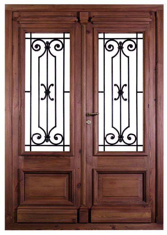 Puerta de entrada j16 pav s puertas vidrieras puertas - Paves abatible ...