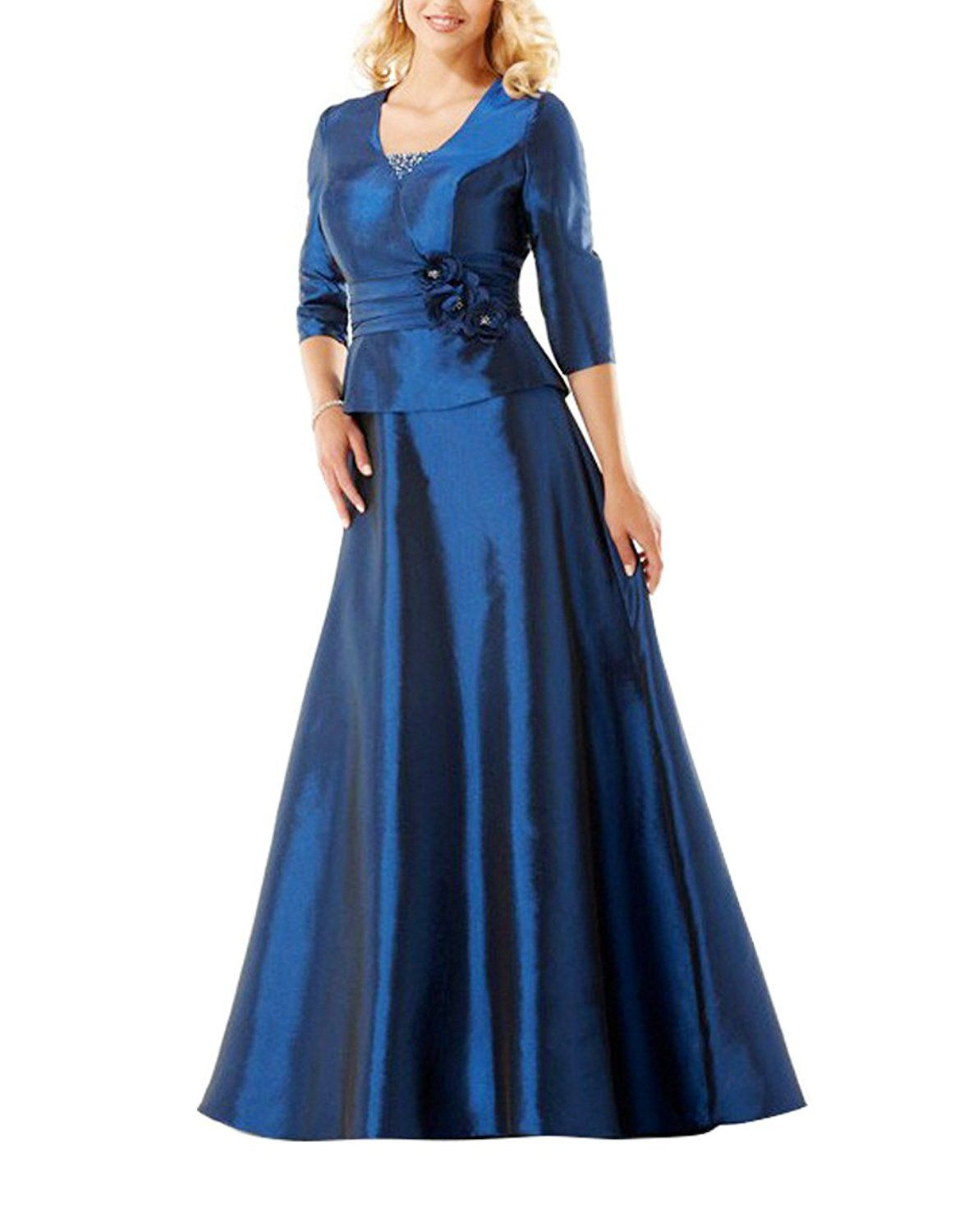 4a5fbd1f5f9 MIGUOO Wedding Party Evening Formal Dresses For Women With Sleeve  shopwp0299   Check this awesome image