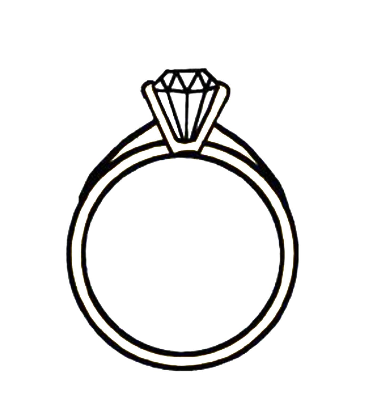 diamond engagement ring clipart 4 engagement rings pinterest rh pinterest com ring clips ring clipboard