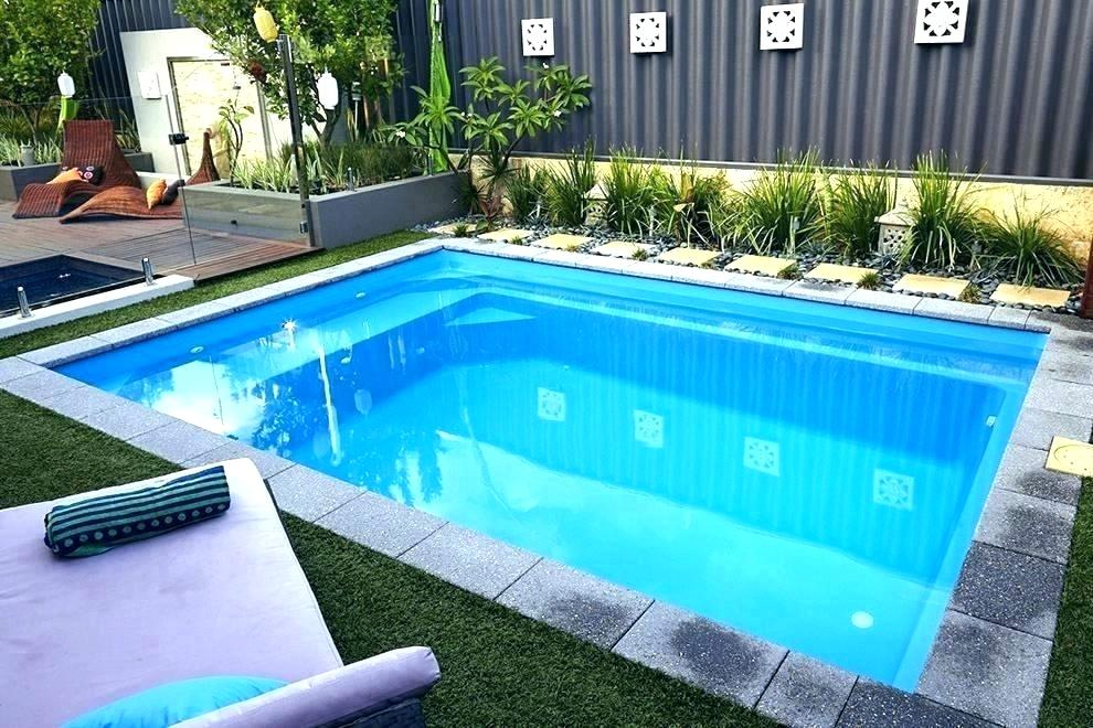 Simple Pool Designs For Small Yards Small Simple Pool Designs
