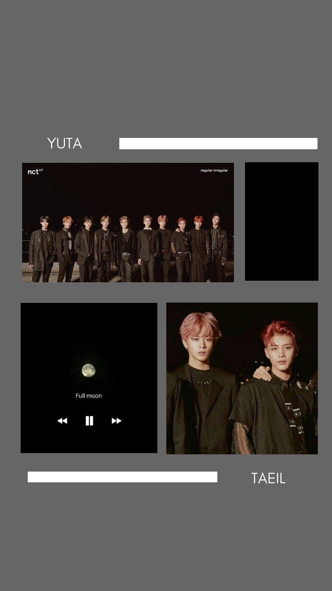 NCT 127 - Yuta Taeil Lockscreen
