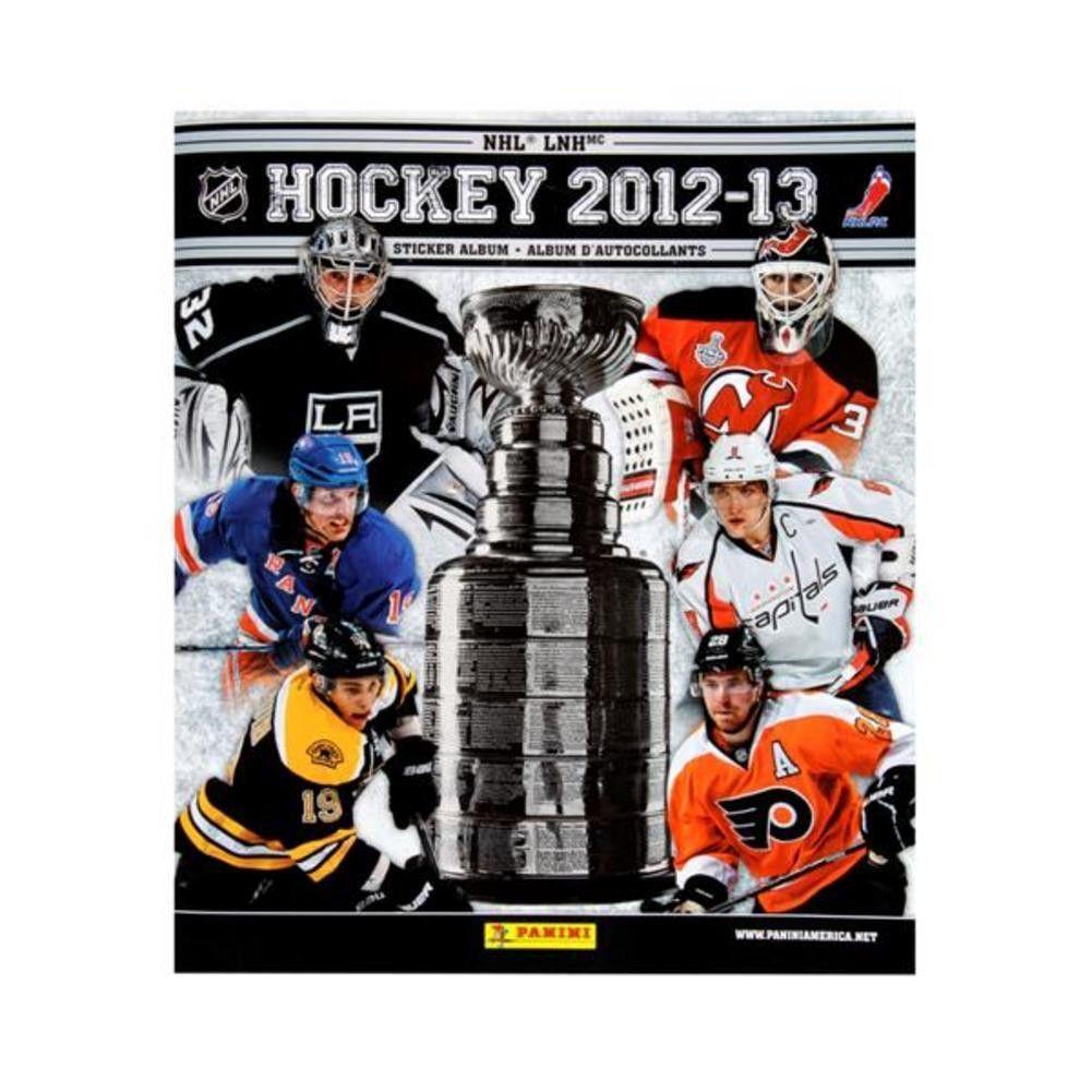 2012 Panini NHL Individual Sticker Album