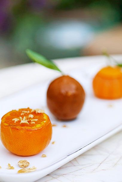 Tangerine and Chocolate from pastry chef Sherry Yard.