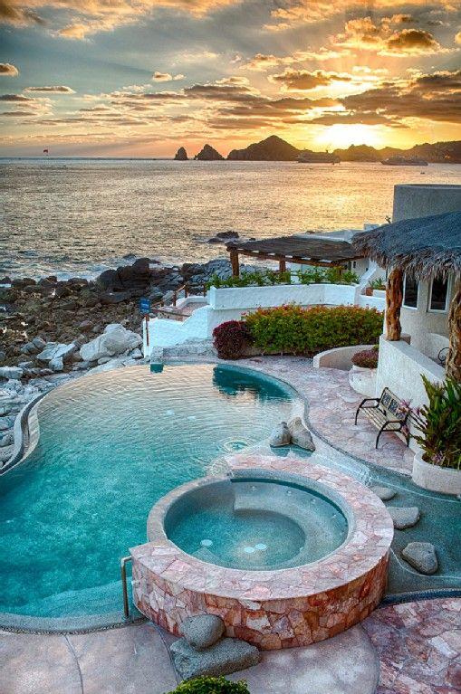 Cabo San Lucas Villa Rental Photos And Description 6 Bedroom 5 000 Square Foot Villa Appointed