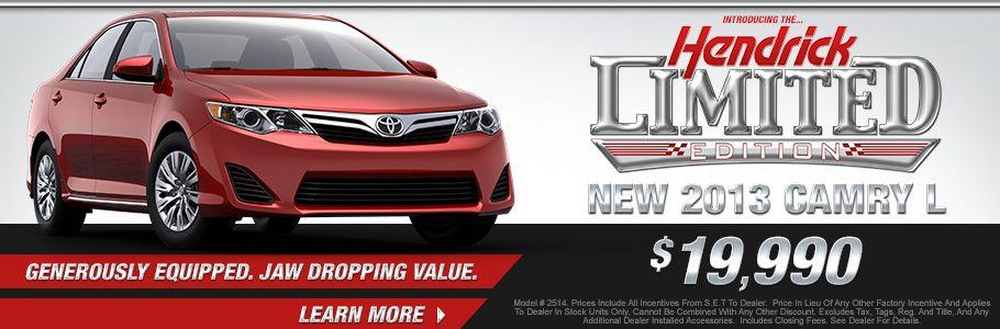 Hendrick #Toyota #Scion North Charleston #Camry Http://mooreandscarry.com