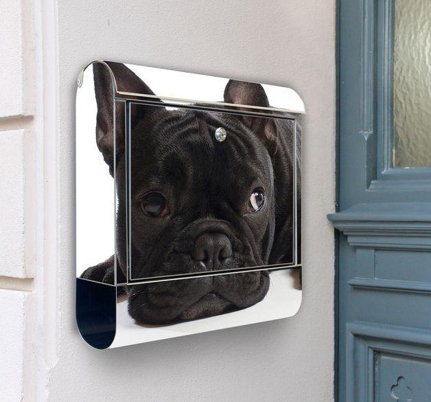 Motiv Briefkasten Bulldogge Briefkasten Auch Mit Wunschmotiv