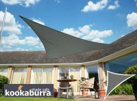 Voile D Ombrage Charbon Triangle Rectangle 4 2m Impermeable 160g M2 Kookaburra Pergola S Palm Springs Lady Bug