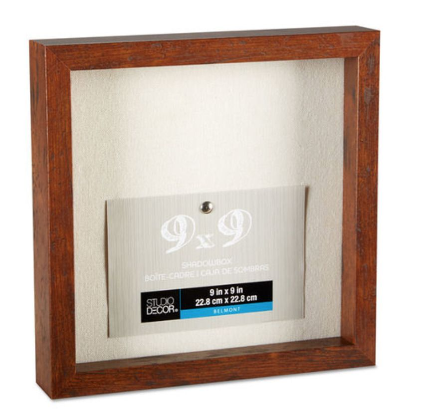 Studio Decor Shadow Box Frame 9x9 And 11x14 White Black Blue Gray Brown Studio Decor Shadow Box Frames Shadow Box