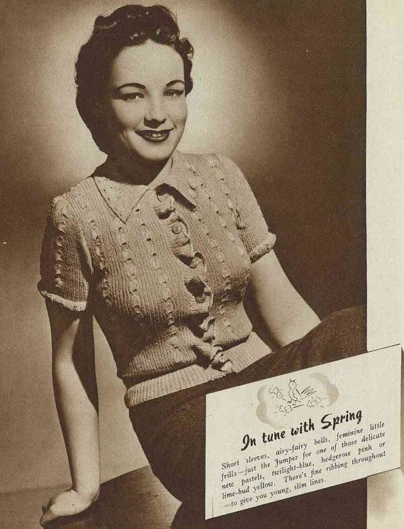 Lux Knitting for 1941 20 designs c.1940s by SubversiveFemme