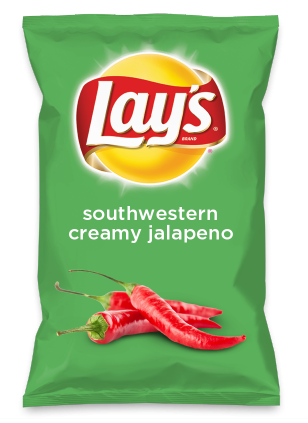 Wouldn't southwestern creamy jalapeno be yummy as a chip? Lay's Do Us A Flavor is back, and the search is on for the yummiest flavor idea. Create a flavor, choose a chip and you could win $1 million! https://www.dousaflavor.com See Rules.