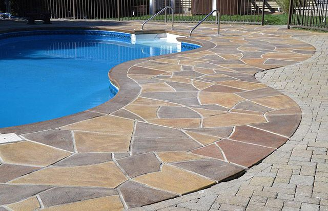 Good How To Make Your Concrete Pool Deck Look Attractive