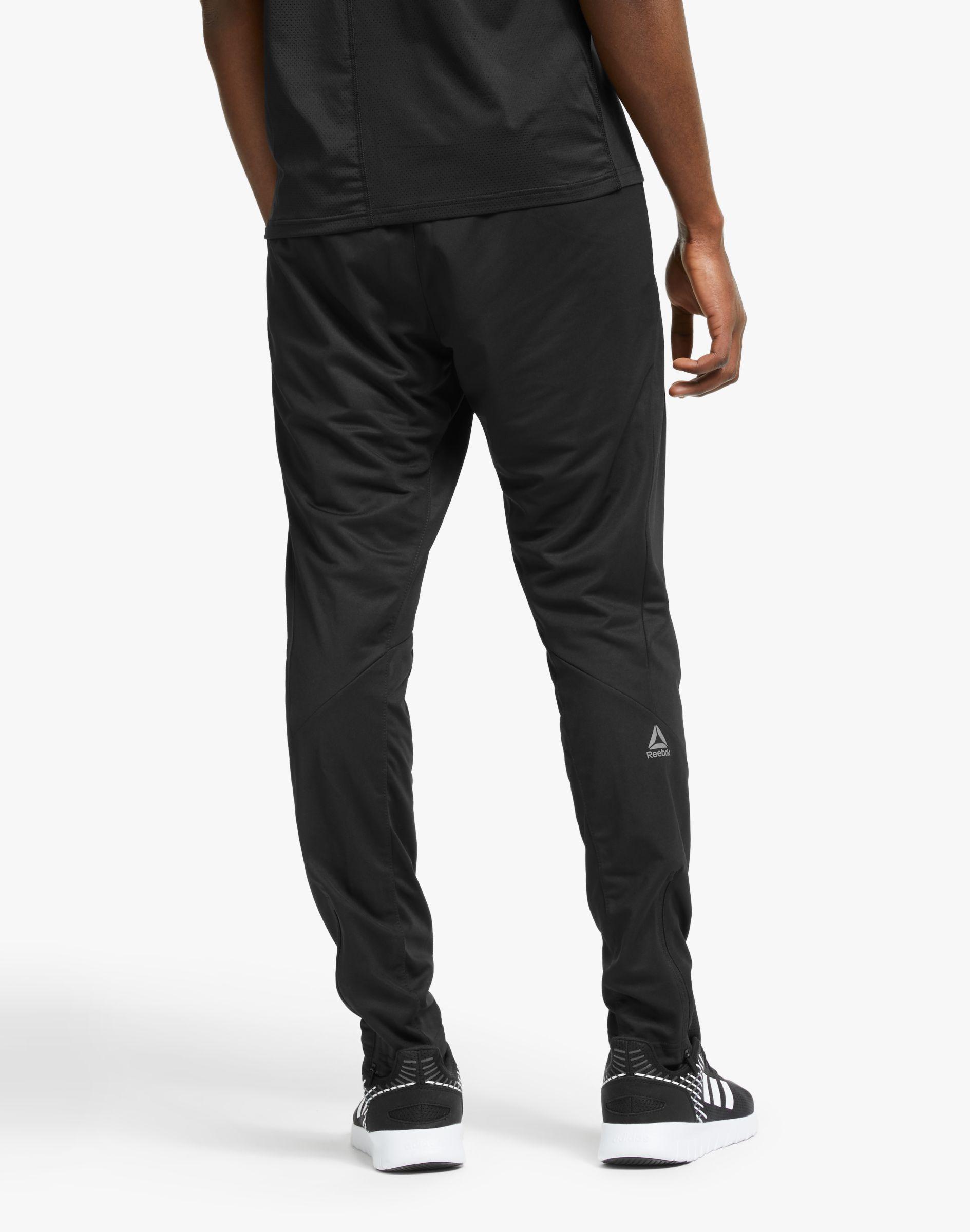 Reebok Speedwick Knitted Mens Training Trackster Black