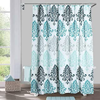 Amazon Com Shower Curtain Prime Eligible In 2020 Gray Shower Curtains Fabric Shower Curtains Curtains