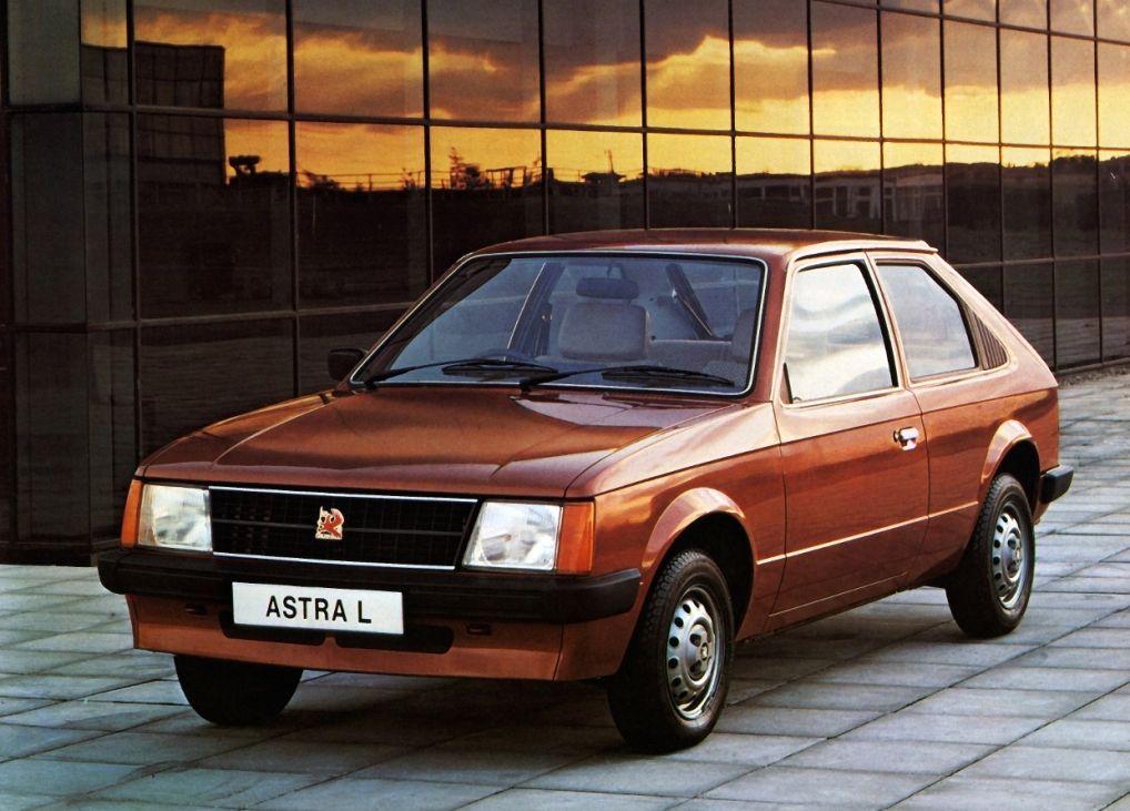 1980 Vauxhall Astra Mk I L 3-door Hatchback | Automóviles clásicos ...