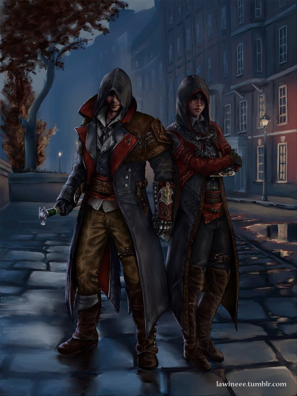 Master Assassins by the-frozen-bunny