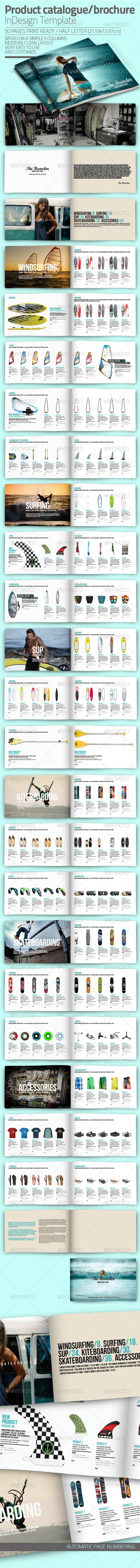InDesign Catalogue Template | Brochures, Template and Catalog