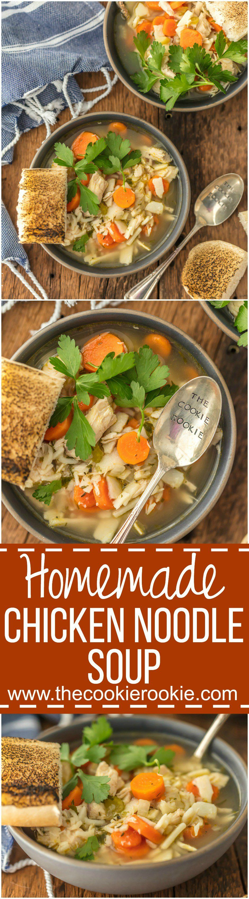 Theres nothing better than bhg home blogger contributor theres nothing better than homemade chicken noodle soup the ultimate comfort food made right forumfinder Choice Image