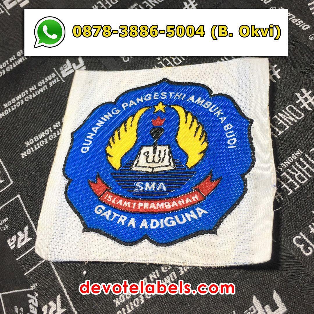 Contoh Desain Label Baju