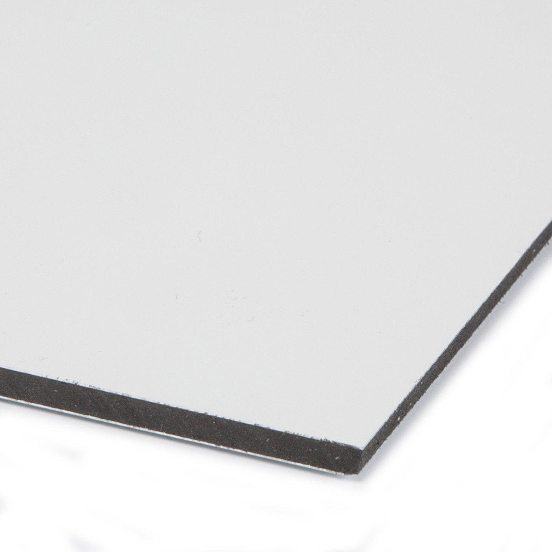 Plaque Pvc Expanse Polyethylene Blanc Laiteux Lisse L 29 7 X L 21 Cm Ep 3 Mm Plaque Pvc Pvc Et Polyethylene