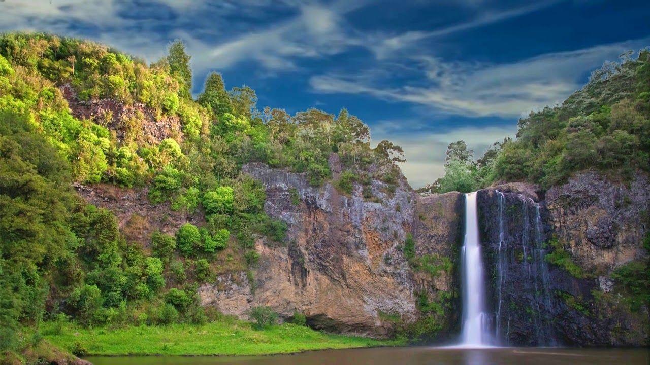 Hd 1080p Nature Waterfall Scenery Video Royalty Free Mountain Video 780 Waterfall Scenery Scenery Waterfall