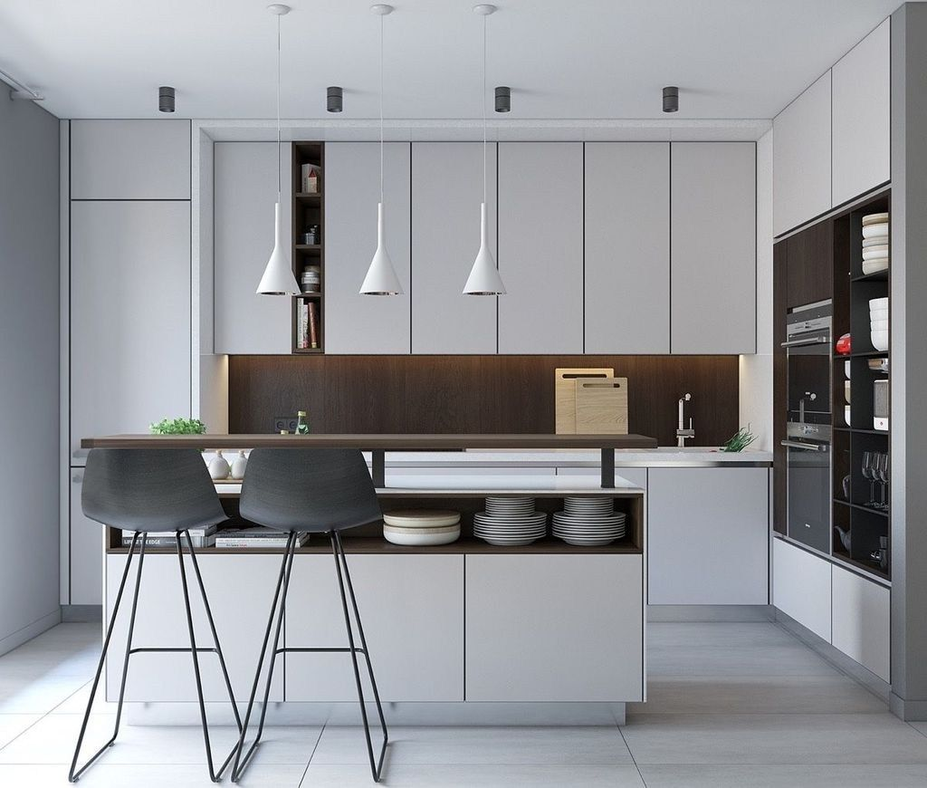 Gorgeous Modern Kitchen Design Ideas23 | Small modern ...