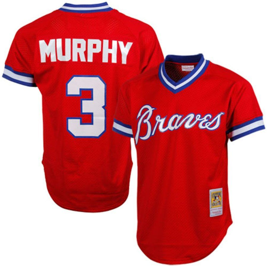 Dale Murphy Atlanta Braves Mitchell Ness 1980 Authentic Cooperstown Collection Mesh Batting Practice Jerse With Images Braves Jersey Atlanta Braves Atlanta Braves Outfit