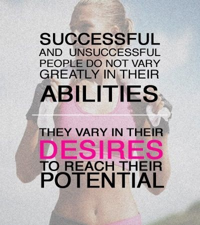Difference between successful and unsuccessful.