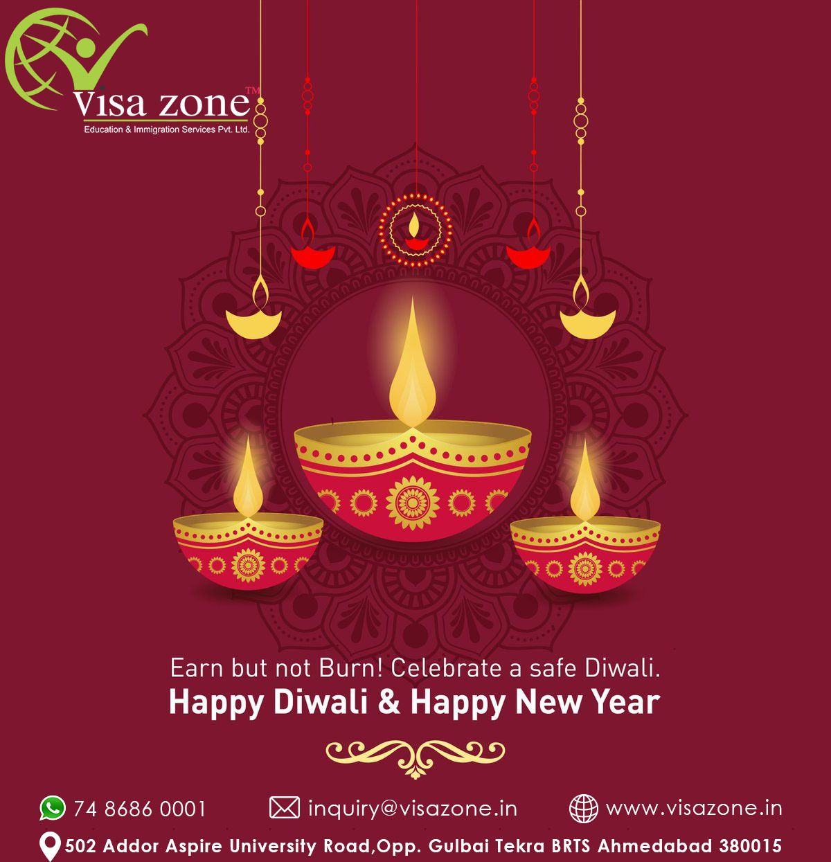 Diwali is celebrated as the new year day in the Hindu